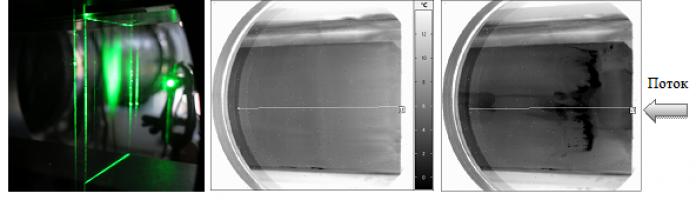 Термогазодинамика обтекания пластины сверхзвуковым воздушно-капельным потоком