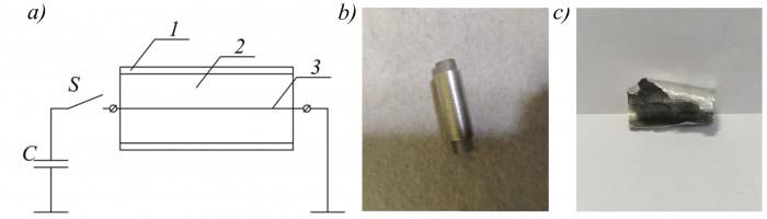 Высокоскоростное разрушение металлических оболочек электрофизическими методами