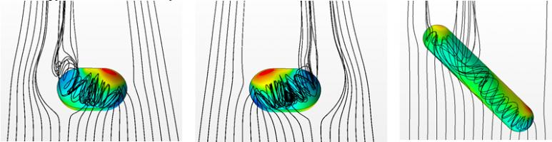 Исследование структуры турбулентного течения в окрестности овально-траншейной лунки в рамках вихреразрешающих подходов